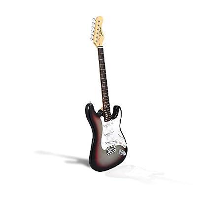 Pyle-Pro PEGKT15SB Beginner Electric Guitar Package - Sun Burst