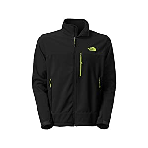 Men's The North Face Apex Bionic Jacket TNF Black/Macaw Green Size Small