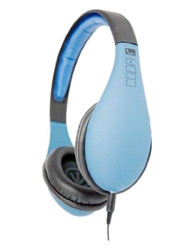 Ifrogz If-Cod-Blu Coda Headphones With Mic, Blue