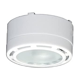 American Lighting LVPX40WH 120-Volt Under Cabinet Xenon Puck Lighting Kit, 2 Pack, White
