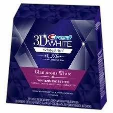 クレスト3Dホワイト グラマラスホワイト14回分 アドバンスド・ビビッド改良版Crest 3D White Glamorous White 並行輸入品