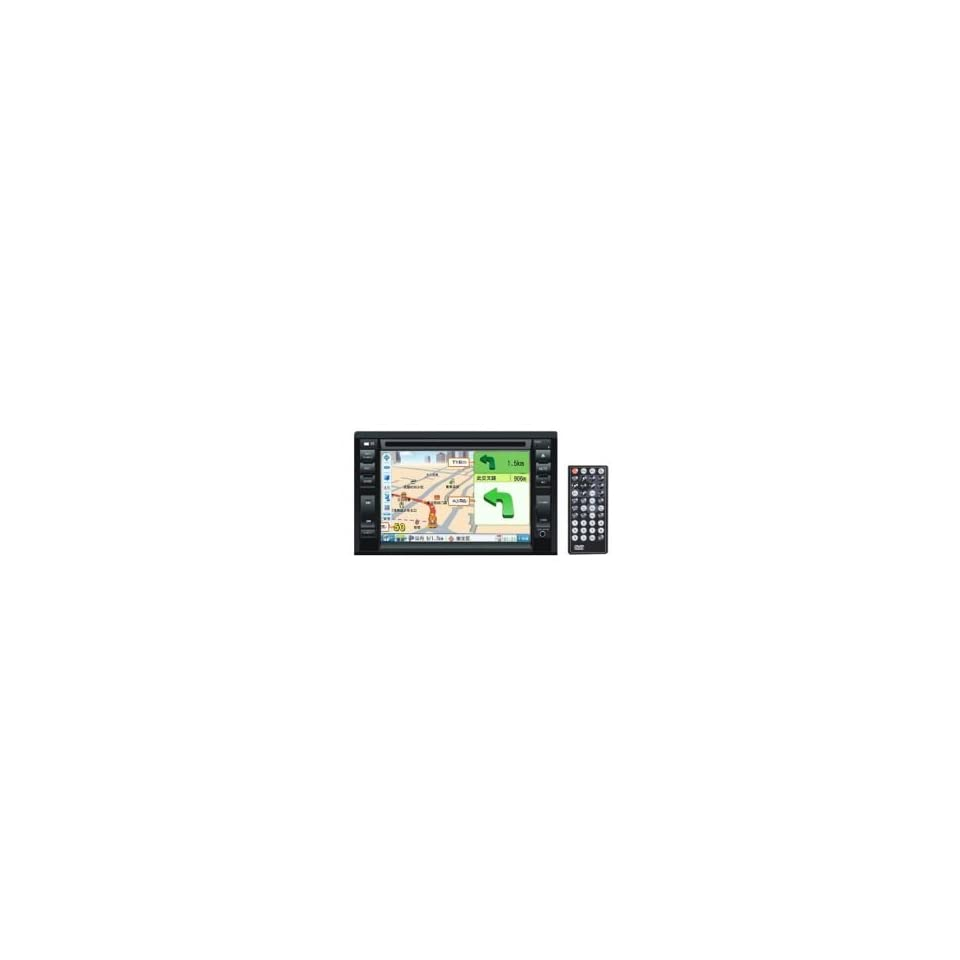 6.2 inch Touch Screen 2 Din In Dash Car DVD Player Built in GPS Function ML B (SZC465)