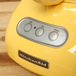 Kitchenaid Food processor 12 Cup ultra Wide Big Mouth Super Capacity kfp750bf Yellow Buttercup Powerful 700-watt Motor slices, dices, chops, and purees polycarbonate almost Unbreakable Bowls.