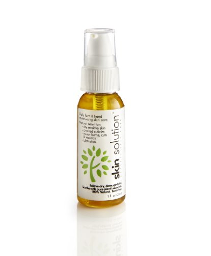 1Oz Skin Solution Pure 100% Botanical Oils. Natural Healing Skin Care For Daily Use. Protects + Heals + Moisturizes Dry Sensitive Skin. Keeps Skin Clear And Fresh.