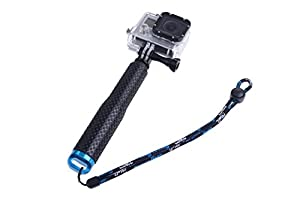 Kangcheng Hand Grip Extendable Waterproof Handheld Selfie Stick for GoPro Fits for all kinds GoPro Camera