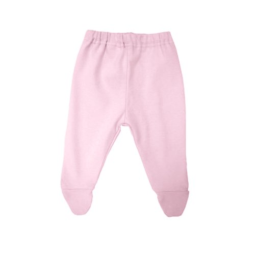 Under the Nile Organic Cotton Footed Pant - (0-3 Months/Pink)