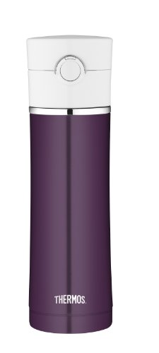 Thermos 16-Ounce Drink Bottle, Plum front-580639