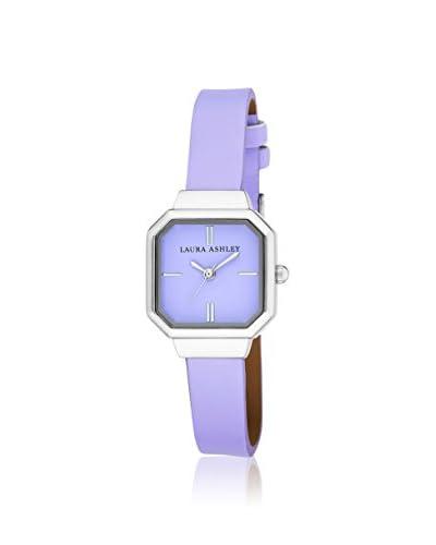 Laura Ashley Women's LA31004PU Analog Display Japanese Quartz Purple Watch