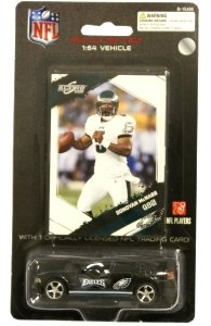 Philadelphia Eagles NFL Diecast 2009 Dodge Charger with Donovan McNabb Score Trading... by NFL