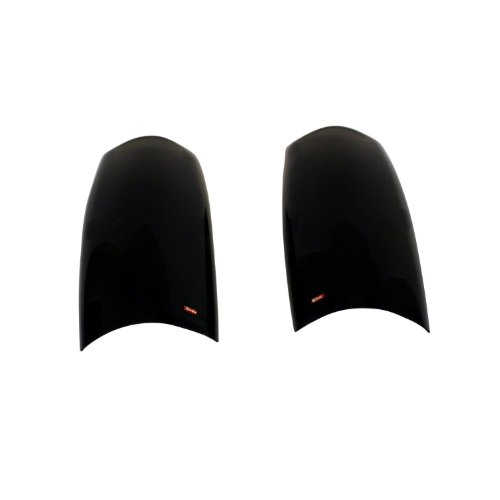 Wade 72-36840 Smoke Tint Solid Design Tail Light Cover - Pair (1998 Ford Ranger Tail Light Cover compare prices)