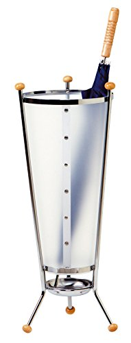 Kos Lighting London Umbrella Stand, Chrome/Translucent Polyphane (100340828)
