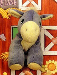 Precious Moments Tender Tails Donkey Plush Doll Toy - 1