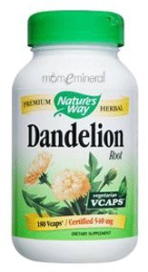 Dandelion Root 540 mg 100 Capsules by Nature's Way