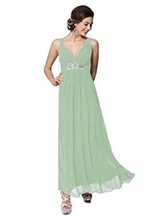 HE09449GR08, Green, 6US,Ever Pretty Women Dresses For Special Occasions 09449