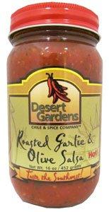 Desert Gardens Roasted Garlic & Olive Salsa Hot from Desert Gardens