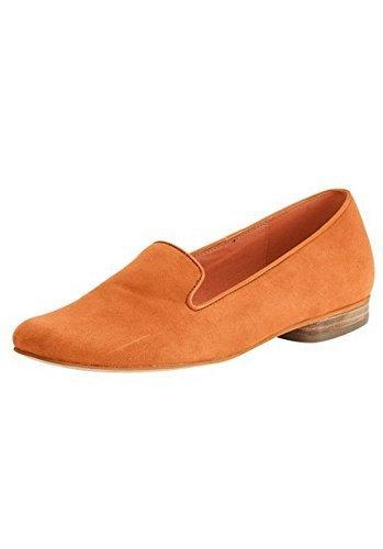Pantofola Donna in Suede di Patrizia Dini - Arancione, 43