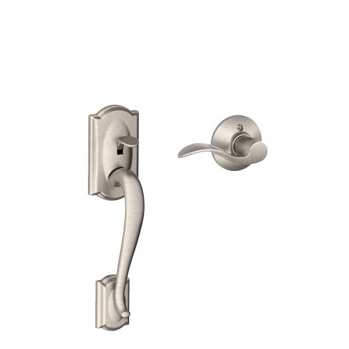 camelot-front-entry-handle-accent-right-handed-interior-lever-satin-nickel-fe285-cam-619-acc-rh