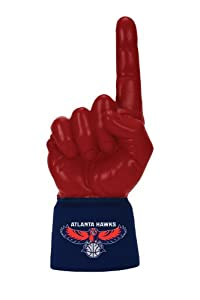 Atlanta Hawks Navy Jersey With 1 Scarlet Ultimate Hand by Ultimate Hands