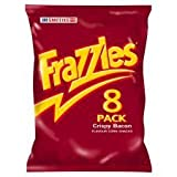 Smiths Frazzles Crispy Bacon Snacks 8 X 23G