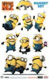 Despicable Me 2 Minions Magnet Set - 1