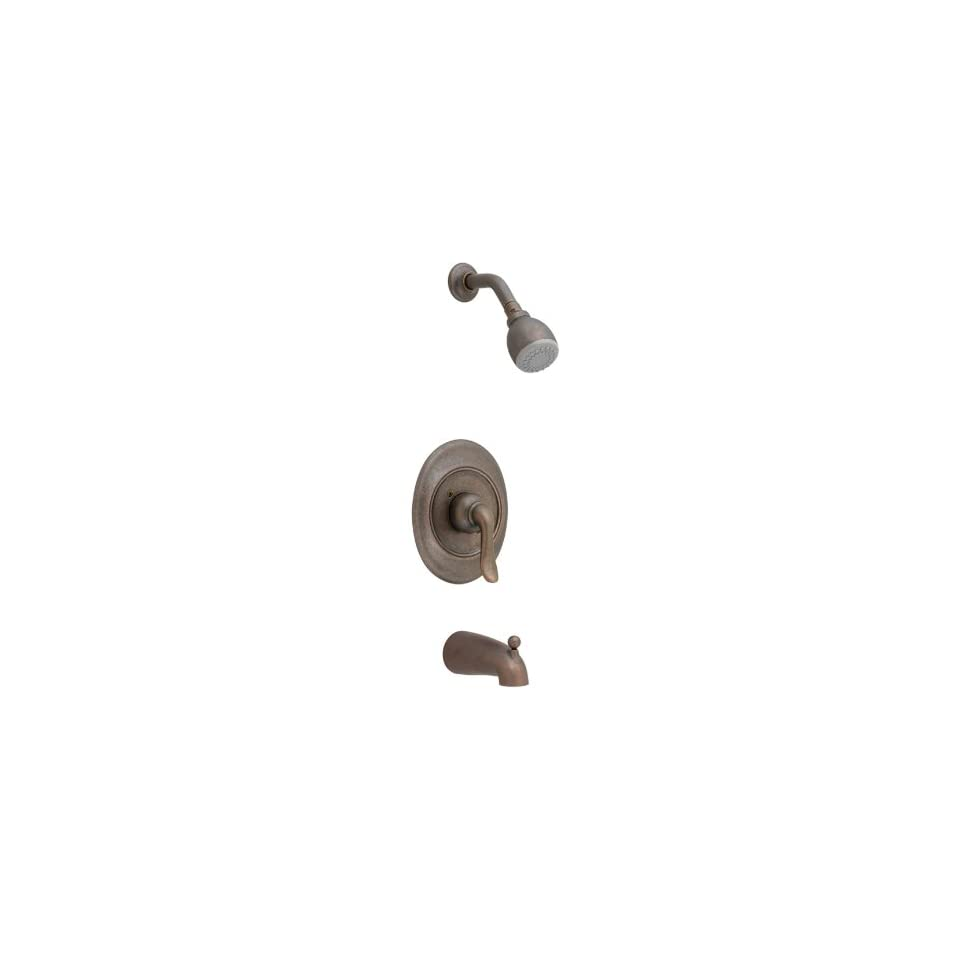 American Standard T508502.224 Princeton Single Lever Handle Bath and Shower Valve Trim, Oil Rubbed Bronze