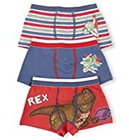 3 Pack Cotton Rich Toy Story Trunks