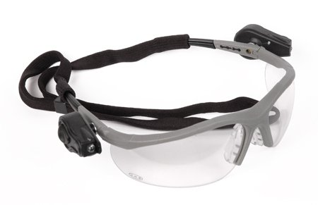 3M Light Vision 2 Safety Goggles Ultra-Bright Dual Leds Anti-Fog Clear Lens Flexible Nose Bridge front-1042267