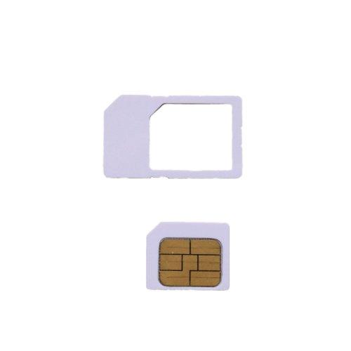 softbank iPhone3/3gs/4/4s専用micro simカード  アクティベーション〓アクティベートカードactivation【MicroSIMサイズ/通常サイズに変換可能】