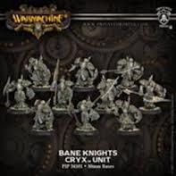 Bane Knight Unit (Repackage) Cryx PIP34101 Warmachine