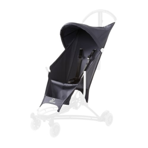 Quinny Yezz Stroller Seat Cover, Grey Road - 1