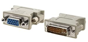 Cabling4Less DVI to VGA (HD15) Adaptor (M-F)