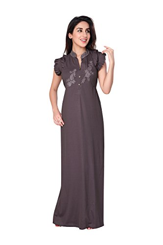Honeydew Womens Cotton Nightwear ,Gray ,Free Size
