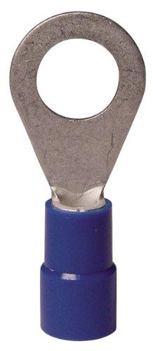 Gardner Bender 20-105 16-14 Gauge Blue Ring Terminals, 17-Pack