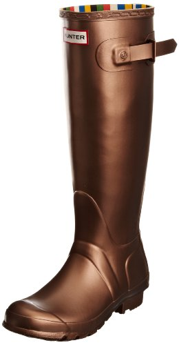 Hunter Unisex-Adult Original Great Bronze Wellington Boot W24568 4 UK