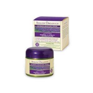 Therapeutic Organic Lavender Skin Care-Ultimate Moisture Cream - 2 oz -