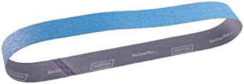 Norton NorZon Plus R821 Benchstand Abrasive Belt, Cotton Backing, Zirconia Alumina