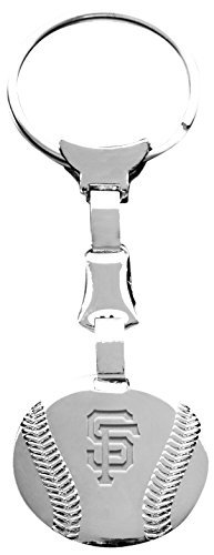buy Mlb San Francisco Giants Engraved Rhodium-Plated Baseball Key Ring Chain