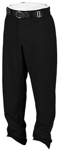 Rawlings Men's Relaxed Fit BP31MR Baseball Pant, Black, Small