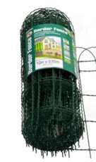 Gardman 10m x 0.65 Border Fence- Green