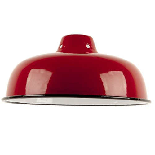 vintage-antique-style-industrial-reproduction-retro-metal-lampshade-with-red-enamel-finish
