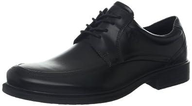 ECCO Men's Dublin Apron Toe Tie Oxford,Black,39 EU/5-5.5 M US