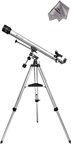675 Power 90060 Starwatcher Telescope Ae10754 With Chanasya Polish Cloth Bundle