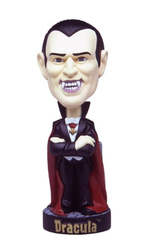 Buy Low Price Sideshow Universal Monsters Dracula Bobble Head Figure (B0023AOFLA)