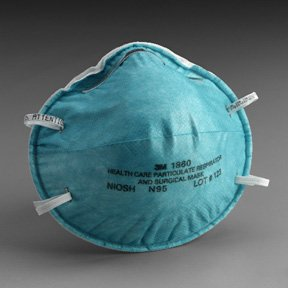 RESP PARTICULATE MASK N95 N95 Health Care Particulate Respirator and Surgical Mask Box of 20 3M 1860
