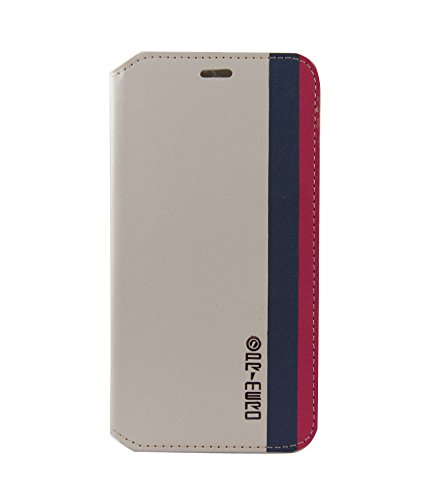 Exclusive Flip Case Cover For HTC DESIRE 816 / 816G - Now Available In White In Blue And Red Strips