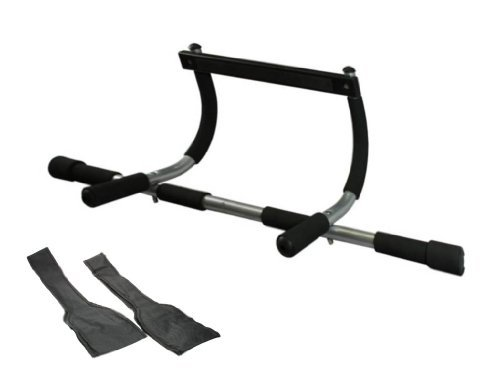 Wacces 3-in-1 Fitness Exercise Door Chin Pull Push Sit up Bar + Bonus Ab Strap (Doorway Sit Up Bar compare prices)