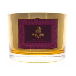 WINTER FIG - Shearer Candles - Gold Mirror Multi Wick Jar by Shearer Candles