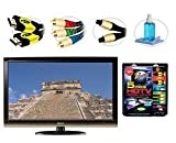 31bJ9Ysl7yL. SL160  Sharp LC46E77U   AQUOS 46 + High performance HDTV Hook up & Maintenance Kit