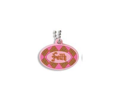 Faith Pure Faith Rubber Pendant Necklace