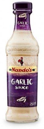 Nando's Garlic Extra Mild Sauce, 250 ML